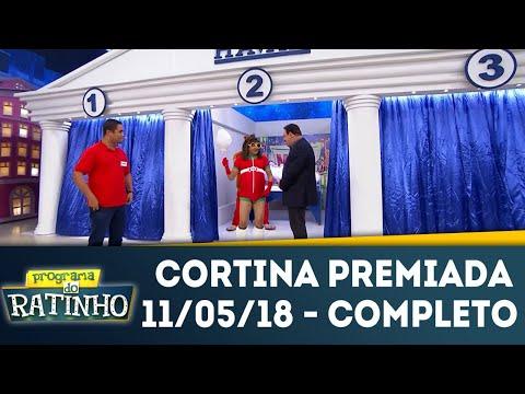 Cortina Premiada - Completo | Programa Do Ratinho (11/05/18)
