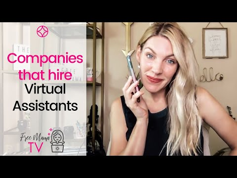 Companies That Hire Virtual Assistants (WORK FROM ANYWHERE!)