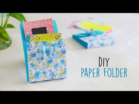 DIY Mini Paper Folder  Accordion Folder   Craft Ideas