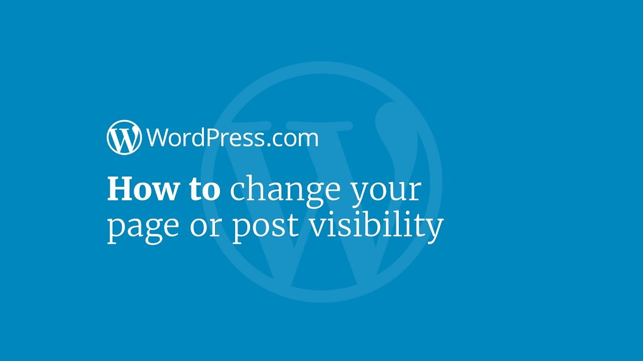 how to make a post page in wordpress