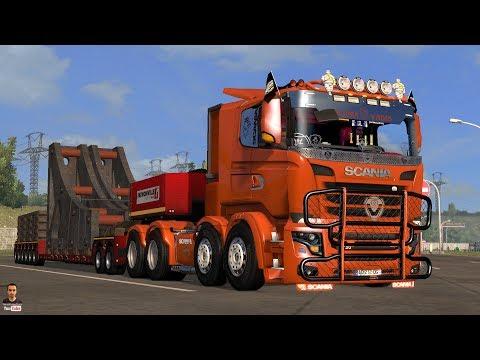 Ets2 1.27...PDT...Scania V8 Illegal Reworked R&S v 9.0.1 (1.27.x)