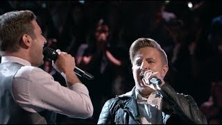 """The Voice Battles: Performance - Billy Gilman vs Andrew DeMuro """"Man in the Mirror"""" [HD] S11 2016"""