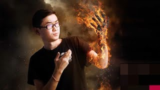 Picsart Editing - Fire hand Effect | PicsArt Editing Tutorial 2019