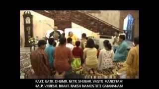 Shri Ganesha Jayanti Birthday (Ganesh Stuti) Shri Mataji Pratisthan Pune 2008 (Sahaja Bhajan)