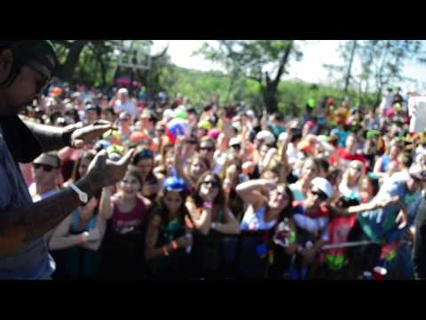 Lil Flip and Crichy Crich LIVE at UT Roundup 2013