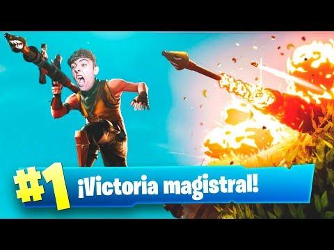 MI MEJOR PARTIDA en *EXPLOSIVOS MEJORES V2* de FORTNITE: Battle Royale!!