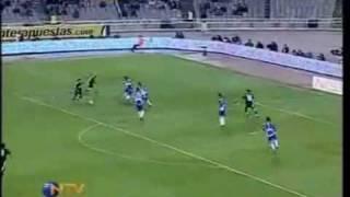 Espanyol-Real Madrid 0-2 Gol de Raul (Cadena Ser-Manolo Lama)