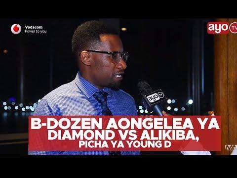 B-Dozen aongelea ya Diamond vs Alikiba picha ya Young D