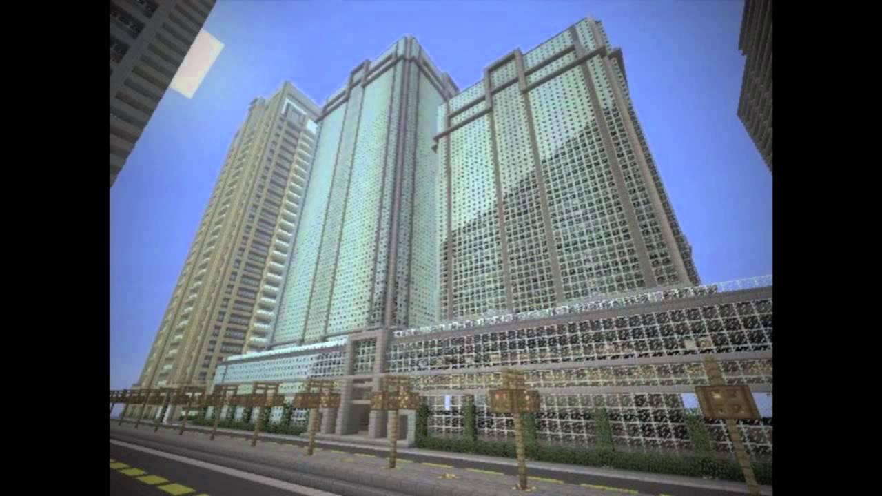 Minecraft Xbox 360 Editon - 10 Tallest Buildings in Titan ...