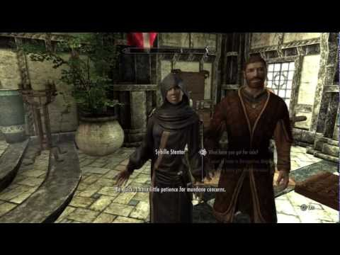 how to put a lock on a chest in skyrim
