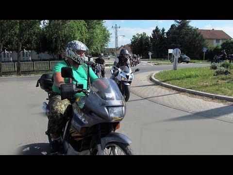 Ride around Begec Vojvodina Serbia  -DEFILE- 05-2017