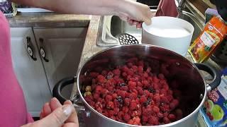 Стоп Сахар! Варенье  из малины с ЖЕЛФИКСОМ за 3 минуты.