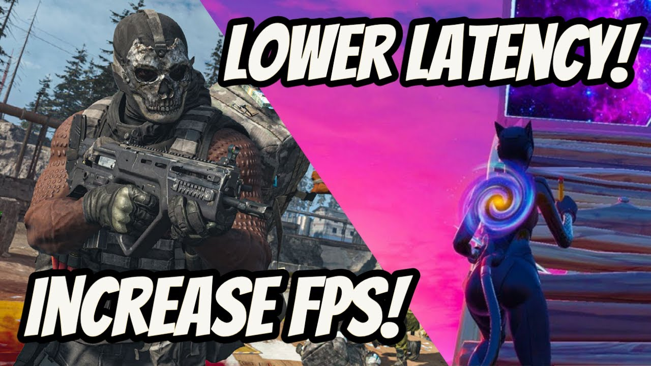 Download QUICK and EASY Way to Boost FPS and Lower System Latency   COD Warzone   Fortnite Chapter 2 Season 5