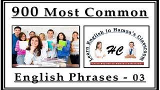 Video 900 Most Common English Phrases - 03 - Basic English Lessons download MP3, 3GP, MP4, WEBM, AVI, FLV November 2018