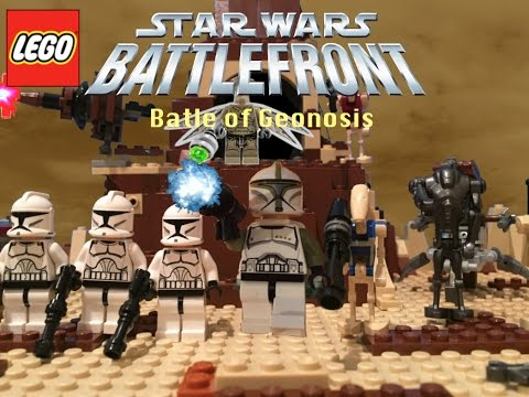Lego Star Wars Battlefront- The Battle for Geonosis - YouTube