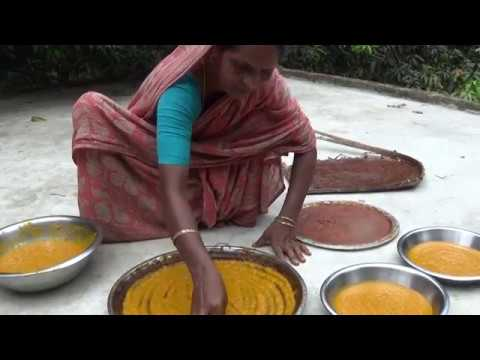 Village Food In India | 100% Pure Mango Papad (Aam Sotto) Pr