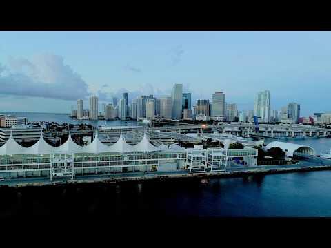 DownTown Miami Sunrise at Watson Island