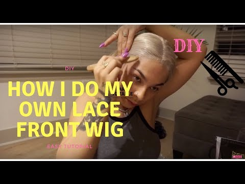 HOW I DO MY OWN LACE FRONT WIG (plus wine)