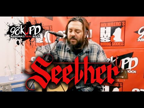 Seether - Fine Again Acoustic @ 98KUPD