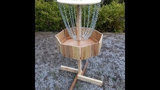 How To Build A Wooden Disc Golf Basket