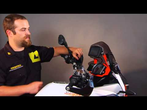 Garmin Zumo 590LM Locking Handlebar Mount - Touratech-USA