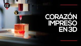 Así es el corazón impreso en 3D a partir de tejidos humanos | El Espectador
