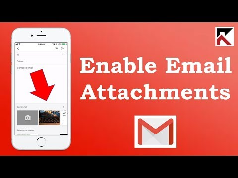 How To Enable Photo And Video Attachments Gmail App IPhone