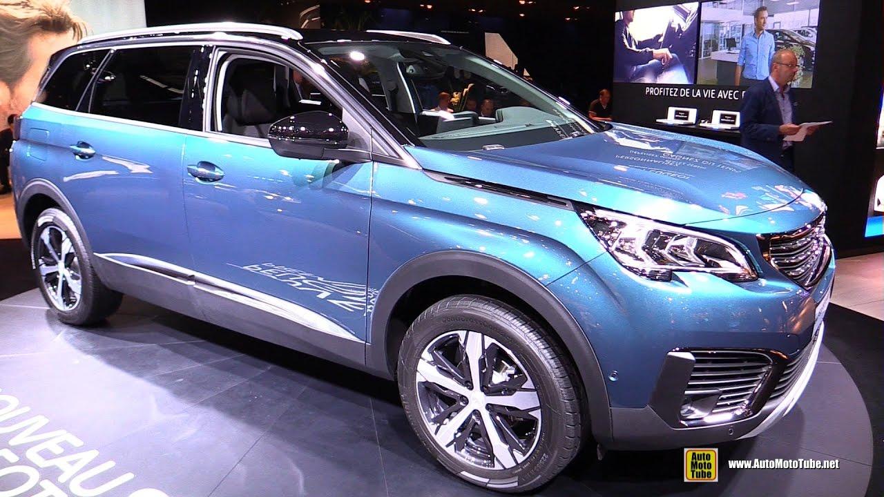 2017 Peugeot 5008 - Exterior and Interior Walkaround - Debut at 2016 Paris  Motor Show