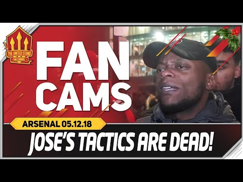 MOURINHO Tactics Dead! Manchester United vs Arsenal 2-2 Fancam