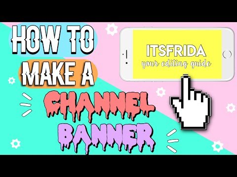HOW TO MAKE A CHANNEL ART ON IPHONE