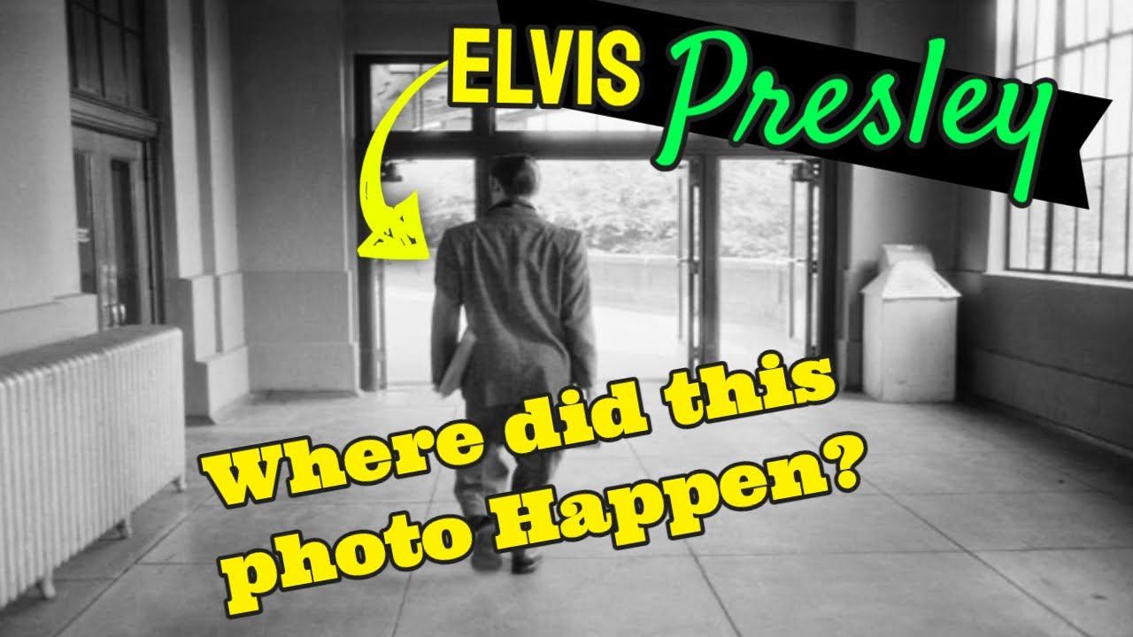Elvis Presley Richmond Virginia Train Station Photo Where Did it Happen? Spa Guy