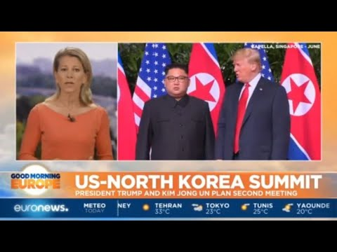 US-North Korea Summit: President Trump and Kim Jong-un plans second summit