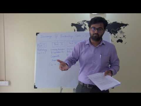 Insolvency and Bankruptcy Code, 2016 Part 1 Preliminary by Adarsh Joshi (better quality)