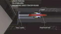 M1A2 Abrams tank ammunition HEAT SABOT