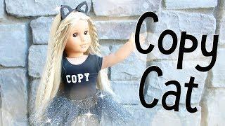 DIY American Girl Doll Cat Ears Headband and Costume
