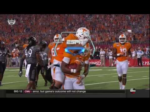2016 Tennessee vs Virginia Tech: Offense Play by Play