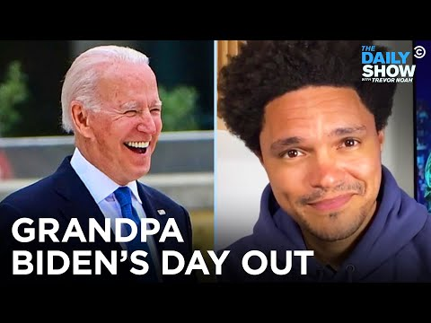 Joe Biden's First Trip Abroad: Meetings with the Queen & The G7 | The Daily Show