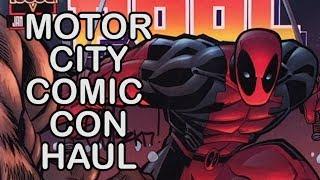 $pend Dat Money! - 2017 Motor City Comic Con (MCCC) Haul - Comics , Toys, Video Games