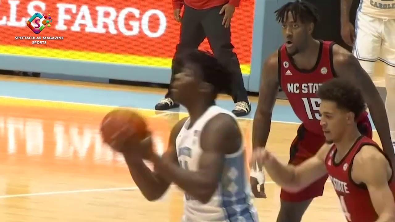 1.23.2021 UNC vs NCSU Men's Basketball Highlights