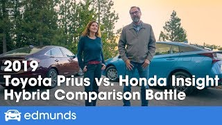 2019 Toyota Prius vs. 2019 Honda Insight — Hybrid Comparison Battle