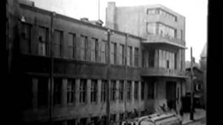 Реконструкция харьковского Главпочтампа в разные годы. Привокзальная площадь.