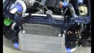 BMW E30 325i Turbo warmup, M50 HX52