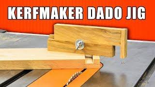 Kerfmaker Exact Width Dado Jig / Make Perfect Dados!