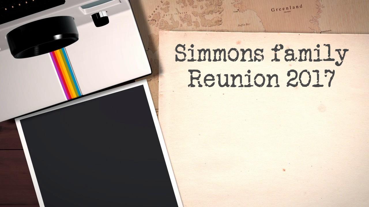 Simmons family Reunion 2017 - YouTube