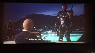 Theater reaction to deathstroke- JUSTICE LEAGUE(HD)