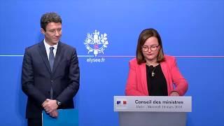 Consultations citoyennes sur l'Europe : Nathalie Loiseau présente le projet
