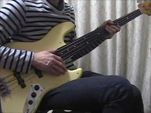 JAPAN / The Art Of Parties (Single Version) (Bass Cover & Arrangement)