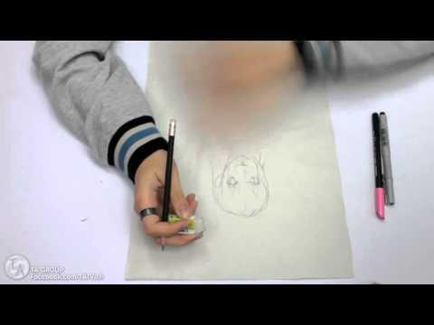 สอนวาดรูปการ์ตูนเบื้องต้น - ส่วนหัว
