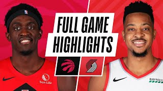 RAPTORS at TRAIL BLAZERS  | FULL GAME HIGHLIGHTS | January 11, 2021