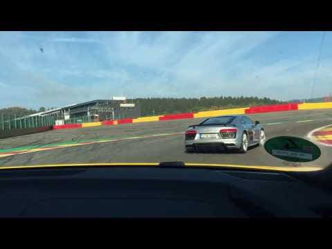 Audi driving experience spa-Francorchamps